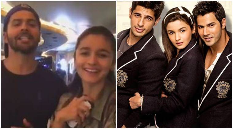 Sidharth malhotra, alia bhatt, varun dhawan, students of the year, students of the year fourth year, soty 4th anniversary, karan johar, entertainment news, indian express, indian express news
