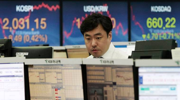 Global markets, Asian stock markets, stock markets, Asian shares, dollar, US Federal Reserve, fed rates, Wall Street, business news, world market, latest news, Indian express