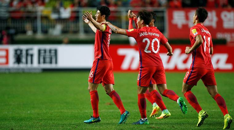 sputh korea, south korea world cup qualifiers, world cup qualifiers, asia world cup qualifiers, korea world cup, football news, sports news