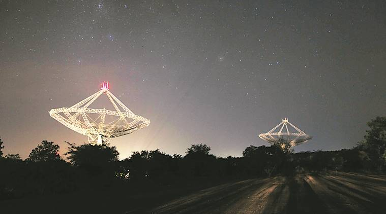 GMRT, Pune Giant Metrewave Radio Telescope, European Space Agency, GMRT ESA, mars probe, NASA, tech science, science news, indian express, tech news, techie
