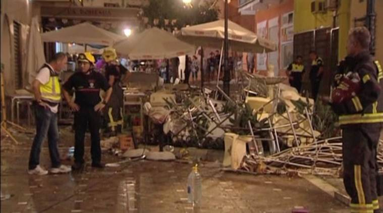 Spain explosion, Southern spain explosion, spain cafe explosion, spain explosion casualties, Spain Malaga explosion, explosion, gas leak explosion, Spain, World news