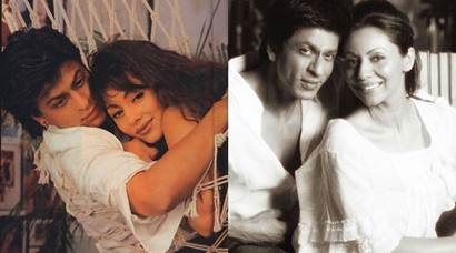 When Shah Rukh Khan wanted to become Gauri's brother, see their pics over the years