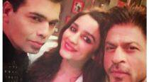 Confirmed: Shah Rukh Khan, Alia Bhatt to open Koffee With Karan, see pic