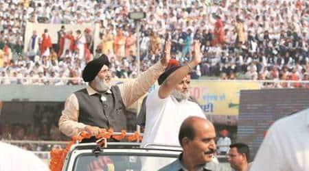 badal, chandigarh, punjab capital, punjab news, punjab 50 years, punjab 50 years celebration, punjab celebration, chandigarh news, india news