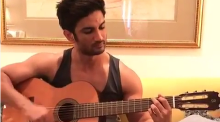 Sushant Singh Rajput strikes the right chords for Takadum, watchvideo
