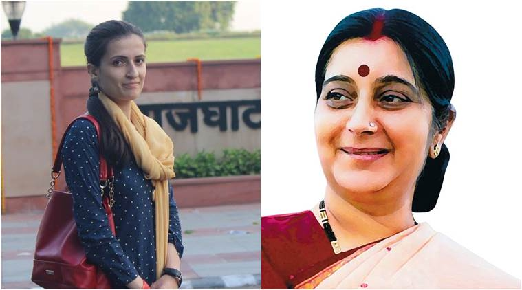 Sushma Swaraj's response to this Pakistani girl is a must-read