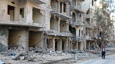 syria, russia ceasefire, aleppo, un human rights, war in syria, syrian war, world news, indian express,