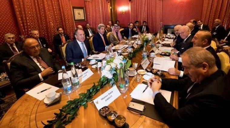 John Kerry, US Secretary of State John Kerry, Syria, United States,Lausanne, Syria conflict, Russia, World news, Indian express news