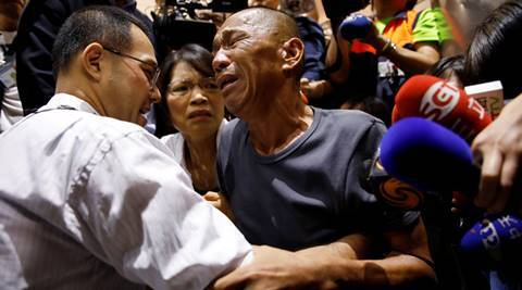 Taiwan hostage freed by Somali pirates ate mice,scorpions