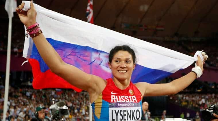 Tatyana Lysenko, Russia doping, Russia doping samples, Russia doping 2012 olympics, russia doping 2012, russia ioc sanctions, ioc sanctions, ioc doping, sports, sports news