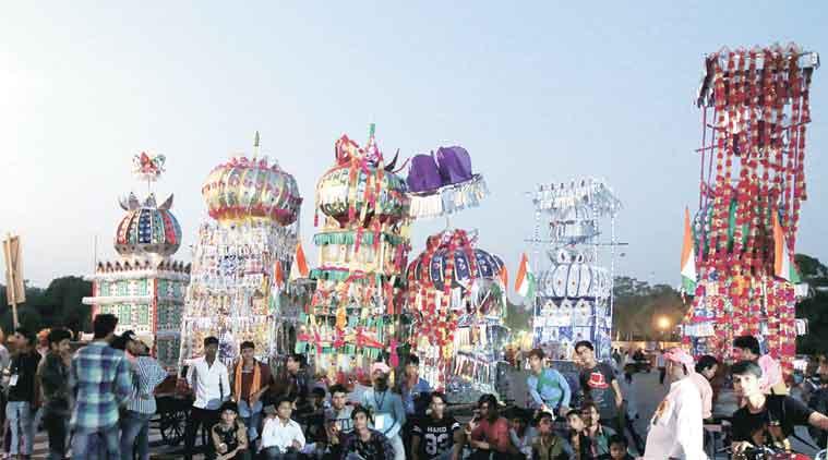 Muharram, Tazia procession, tazia immerssion procession, Muharram Gujarat, Gujarat news, Muharram news,
