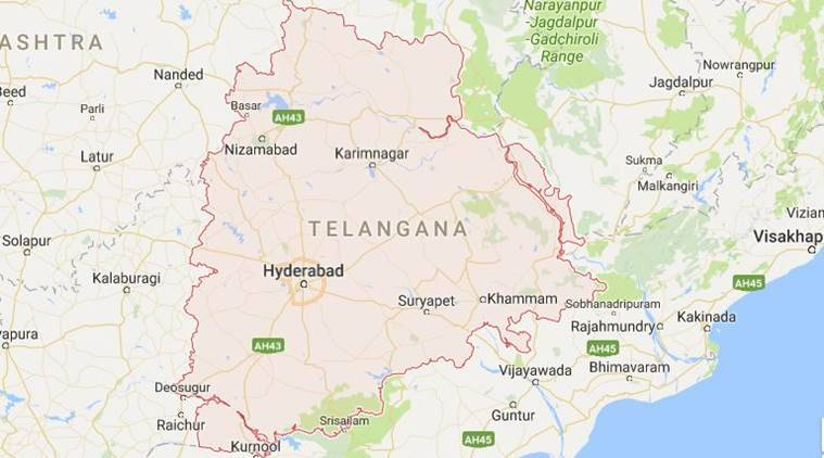 Telangana, Telanagana protest, man immolates self, medak district, man dies, man sets fire, telangana merger, india news, indian express