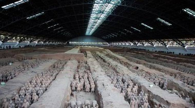 Terracotta Army, Terracotta Army in China, what is the Terracotta Army, China, Chinese history, Greek history, Greek art, Greco-Buddhist art, Alexander the Great, Alexander the Great in India, The Greatest Tomb on Earth: Secrets of Ancient China, Indian Express