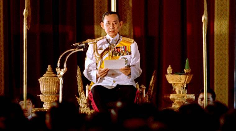Thai King, pranab mukherjee, pranab mukherjee condoles death, PM Modi, thai king bhumibol, thai king death, thai king dies, world news, indian express