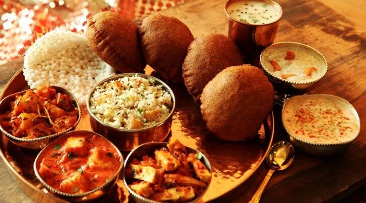 navratri 2016, navratri thali restaurants, navratri thali restaurants in delhi, navratri thali offers delhi, indian express, indian express news