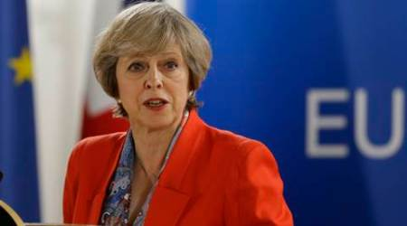 Theresa May, brexit, hard brexit, Scotland brexit, Theresa May Scotland, Scotland visit, may Scotland visit, Nicola Sturgeon, Nicola Sturgeon theresa may, Scotland referendum, latest news, latest world news, indian express