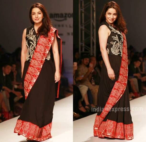 AIFW SS17: Tisca Chopra turns showstopper for Kavita Bhartiya