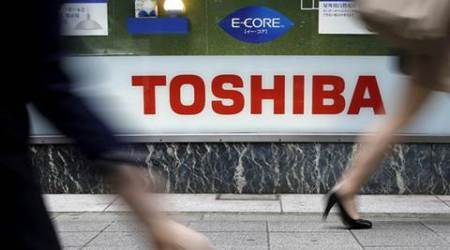 Toshiba, Toshiba sales, Toshiba loss, Toshiba nuclear power acquisition, business news, companies news, latest news, indian express
