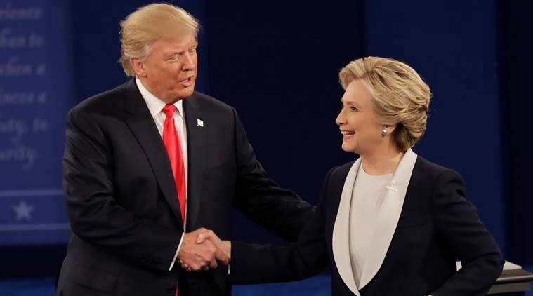 hillary clinton donald trump, russia rejects allegations of meddling in us elections, russia us elections, hillary clinton donald trump energy, energy stance hillary clinton, energy donald trump, us elections, us elections 2016, world news, indian express,