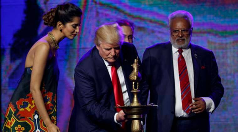 donald trump, narendra modi, donald trump india, trump modi, trump on modi, trump indians, trump hindus, trump new jersey rally, trump indian americans rally, trump indian supporters, world news