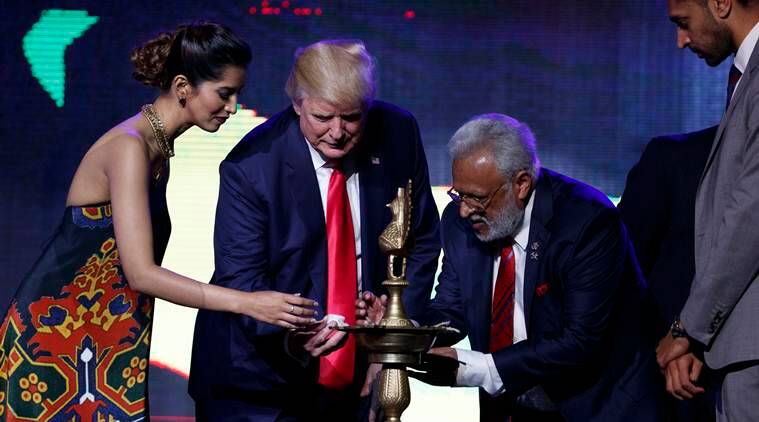 Donald Trump, trump, hindus for trump, hindu trump, Republican, US elections 2016, US presidential elections, Hindu Republican Coalition, Donald Trump in Hindu event, Donald Trump fan of Hindu, Hindu fundraiser event, Hindu fundraiser event New Jersey, world news, indian express