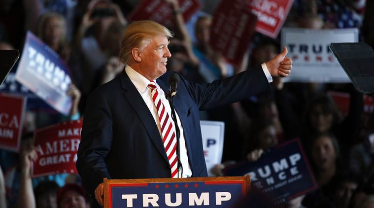 US Elections 2016,US Presidential Elections 2016, Donald Trump, Hillary clinton, Presidential debate, Democrat, republican, US presidential debate, trump clinton, clinton trump, las vegas, las vegas university, Nevad, World news, Indian express news