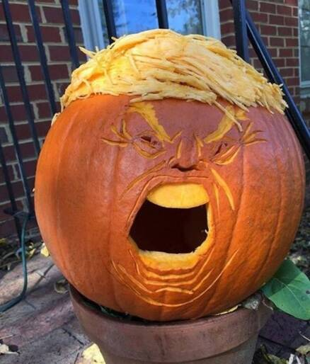 donald trump, halloween, halloween pumpkins, trump, trumpkins, halloween pumpkin carvings, trump pumpkin carvings, halloween pumpkin lanterns, pumpkin carving patterns, halloween pumpkin carving patterns, trumpkins design, trump news, halloween news, latest news, indian express
