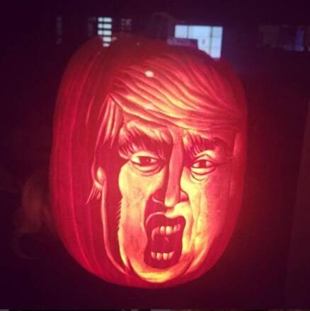 This Halloween, Trumpkins are taking social media by storm