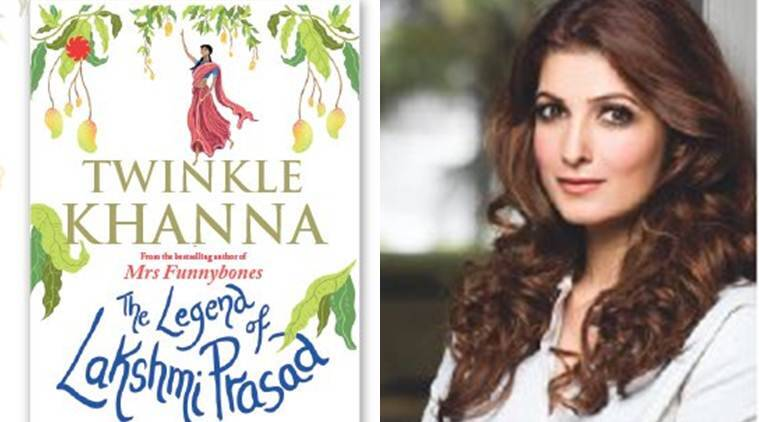 twinkle khanna, twinkle khanna book, Akshay Kumar, twinkle khanna new book, twinkle khanna news, The Legend Of Lakshmi Prasad, The Legend Of Lakshmi Prasad book