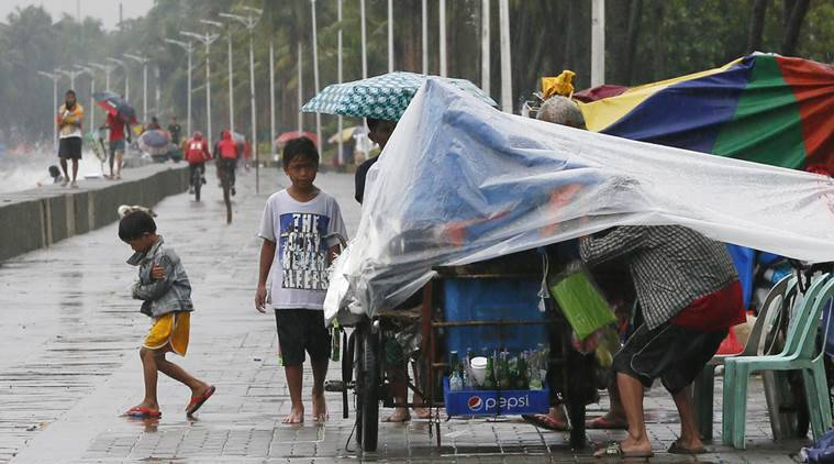 typhoon, typhoon philippines, philippines, typhoon haima, haima, typhoon casualties, World news, natural disasters, Indian express News