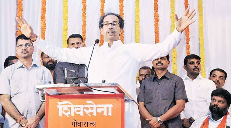 shiv sena, shiv sena goa, uddhav thackeray, shiv sena chief, uddhav thackeray on goa, shiv sena goa elections, shiv sena news, india news