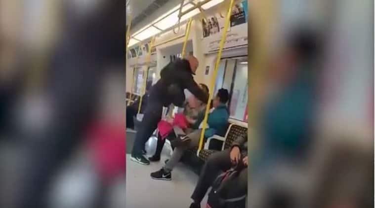 UK man, Uk man punches asian man, UK man assaults asian man,