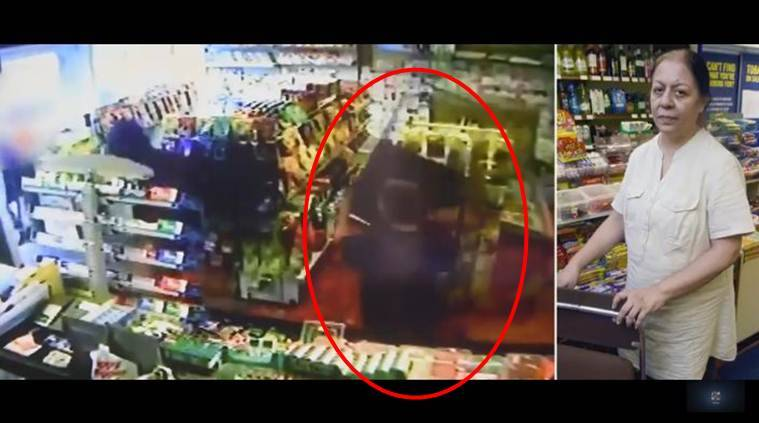 viral video, Indian origin woman, woman fight robbers, United Kingdom, UK robbers, woman fight robbers with chair, world news, indian express, viral news, trending news, latest news