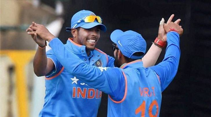 Umesh Yadam Umesh Yadav bowling, Umesh Yadav India, R Sridhar, Sridhar, India vs New Zealand, ind vs nz, ind vs nz odi, India cricket , cricket
