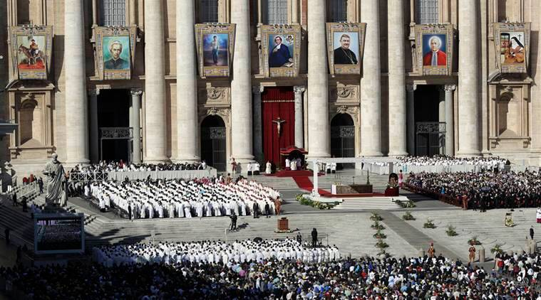 Pope Francis, Vatican canonisation, Vatican saints, pope saints,  Mauricio Macri, Brochero, Salomone Leclerq, Elizabeth Catez, news, latest news, world news, international news,