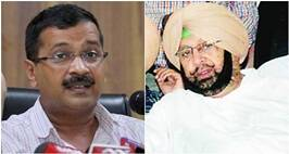 Twitter War Between Congress Leader Amarinder Singh & Delhi CM Arvind Kejriwal