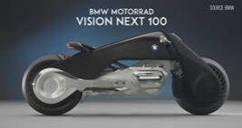BMW Motorrad VISION NEXT 100: The Motorbike Of The Future