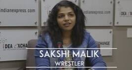 Idea Exchange With Sakshi Malik
