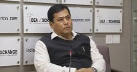Idea Exchange With Sarbananda Sonowal