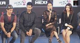 Rock On 2 Trailer Launch: Farhan Akhtar, Shraddha Kapoor, Prachi Desai On Their Roles