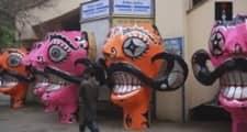 Ravanas Take Over The Delhi Streets Ahead of Dussehra
