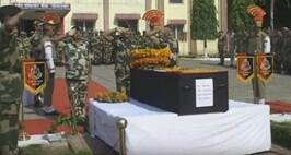 Wreath Laying Ceremony Of Slain Soldier Sushil Kumar Observed