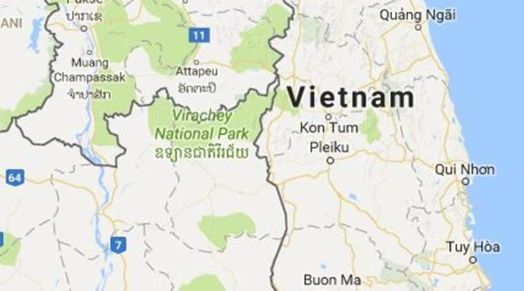 Flood in vietnam kills 11 storm in south china sea approaching vietnam flood in vietnam vietnam flood death toll in vietnam flood storm gumiabroncs Images