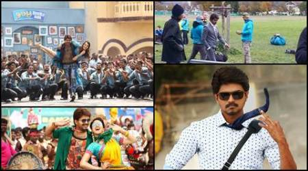 Leaked pictures from Vijay's Bairavaa shoot are as thrilling as its other stills