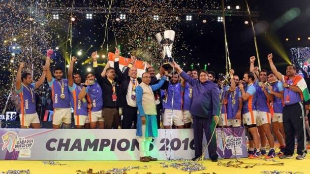 Vijay Goel, Janardan Singh Gehlot , India vs Iran, india vs Iran final, India vs Iran final photos, India Iran photos, India Kabaddi World Cup 2016, Kabaddi World Cup 2016, Kbaddi World Cup final photos, Kabaddi final photos, kabaddi photos, Kabaddi