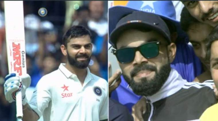 Virat Kohli's lookalike chilled like a loss during India Vs New Zealand