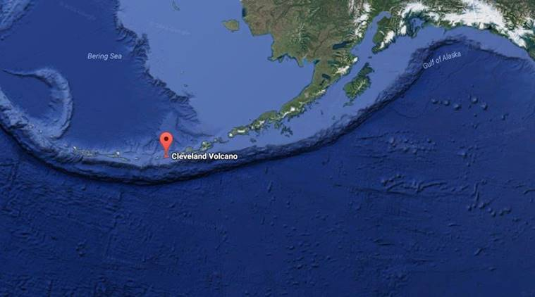 Cleveland Volcano, Alaska, alaska volcano, volcano eruption, volcano alert, Alaska Volcano Observatory, Grover Cleveland, news, latest news, world news, international news