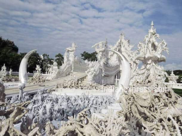 wat rong khun, thailand white temple, chiang rai temple, wat rong khun thailand, wat rong khun chiang rai, Chalermchai Kositpipat, indian express, indian express news