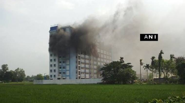 Fire at Hospital.  West Bengal, West Bengal Fire, Fire at hospital, Hospital Fire, Hospital Fires in India, latest news, India news