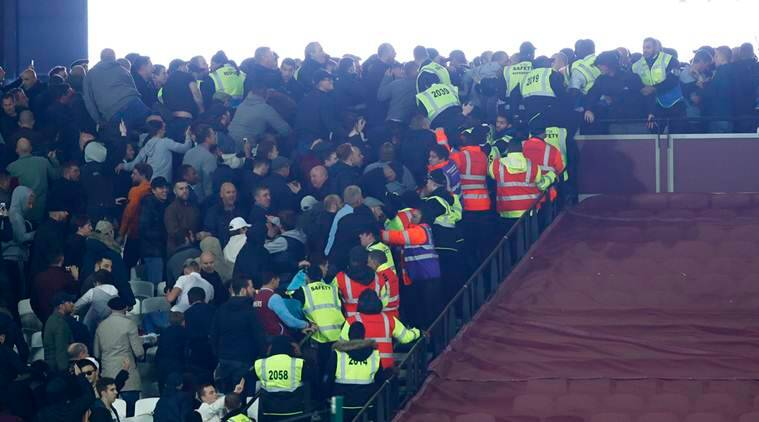 West Ham United, West Ham, West Ham fan trouble, West Ham Olympic stadium, West Ham fans ban, West Ham ban, West Ham fan violence, fan violence, fan violence football, football violence, football, football news, sports, sports news